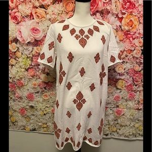 Michael Kors embroidered dress size 10
